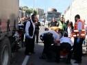 حيفا: نقل رجل (39 عامًا) بحالة خطيرة إلى المستشفى إثر حادث طرق