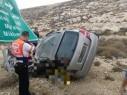 مصرع شاب إثر حادث طرق بين حافلة وسيارة على شارع 458 قرب القدس