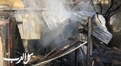اندلاع حريق في عريشة للطيور شرقي القدس