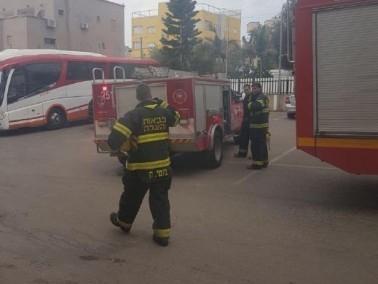 اندلاع حريق في قاعات أفراح في كفرياسيف