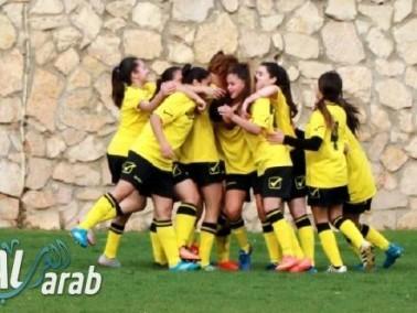 فتيات يافة الناصرة بكرة القدم يفزن على مجدالكروم