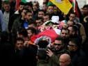 مصادر: اصابة بالرصاص خلال تشييع جثمان الشهيد التميمي في دير نظام