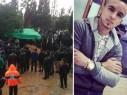 برطعة: جماهير غفيرة تشيع جثمان الشاب عمر خالد كبها ضحية حادث الطرق