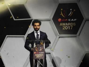 فوز محمد صلاح نجم بجائزة أفضل لاعب بأفريقيا
