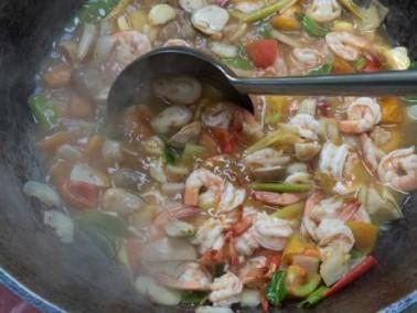 حضري حساء القريدس والأرز..صحتين