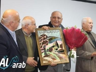 صالة العرض للفنون أم الفحم تكرم مصطفى كبها