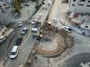 مجلس كفرمندا يباشر العمل على بناء دوار جديد مدخل البلدة