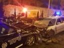 حيفا: إصابة سائق بجراح خطيرة بعد اصطدامه بدورية شرطة خلال هروبه منها