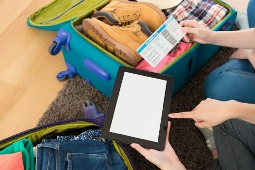 نصائح لترتيب حقيبة السفر بأسرع وقت