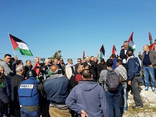 المتابعة: اعتداء على المهرجان التضامني في النبي صالح