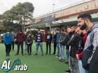 وقفة صمت لطلاب عرب في جامعة حيفا احتجاجا على محاولة قتل الشابة من الجليل