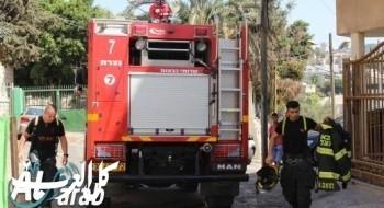 حيقا: إخماد حريق اندلع بثلاث سيارات وفحص إمكانية الإضرام المتعمد