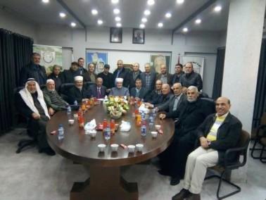 جنين: الجامعة الامريكية تستقبل الوفد النصراوي
