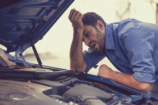تلف حساس الأكسجين في السيارة