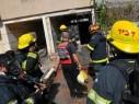 التحقيق في اندلاع حريق داخل محل تجاري في بلدة عيلبون