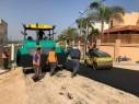 بلديّة باقة الغربيّة تشق وتعبد ستّة شوارع رئيسية في حارة أم الواويّات