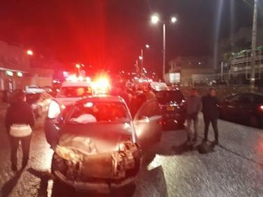الرينة: اصابة 3 اشخاص في حادث طرق على الشارع الرئيسي