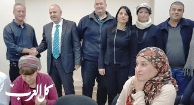 مدير عام وزارة المعارف يزور الجلبوع