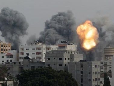 قصف عدة مواقع شمال قطاع غزة