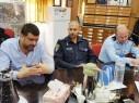 رئيس مجلس مجد الكروم يجتمع بقادة الشرطة:نحملكم مسؤولية محاربة أعمال العنف