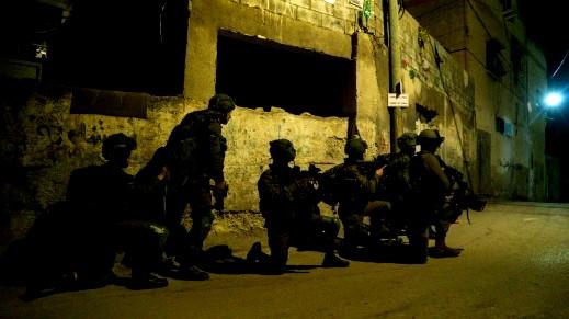 الجيش: اعتقال مشتبه من جنين