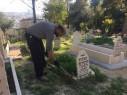 بلدية الناصرة تقوم بتنظيف المقبرة الاسلامية قرب مستشفى الانجليزي