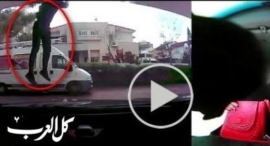 بالفيديو: شاب من حيفا يسرق منزلا في المركز