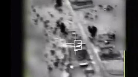 الجيش الإسرائيلي ينشر فيديو لإسقاط الطائرة الإيرانية