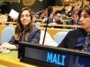 الطالبة ليديا فايز سلامة سفيرة مجد الكروم في الأمم المتحدة