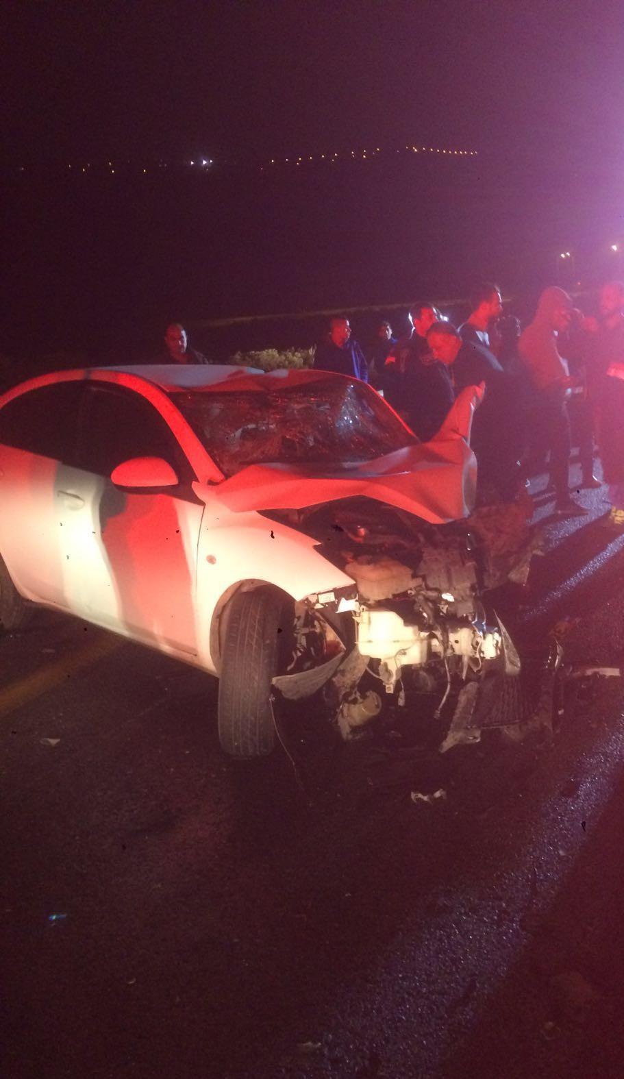 اصابة اربعة اشخاص بحادث طرق مروع قرب كرمئيل