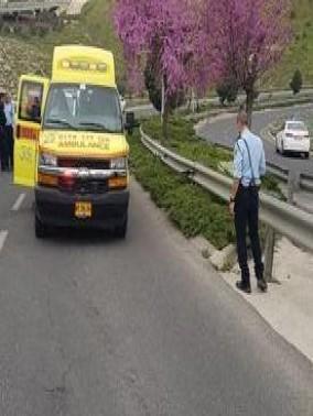 حادث طرق ذاتي على مدخل بلدة حرفيش