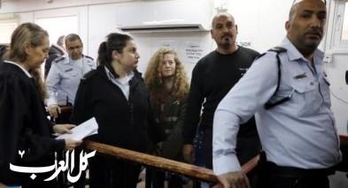 مصادر: تمديد اعتقال عهد التميمي