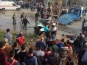 مصرع شخصين في حادث طرق عند مفرق قراوه بني حسان في منطقة نابلس