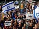 صور- الآلاف يتظاهرون في تل أبيب مطالبين نتنياهو بالاستقالة: باي باي بيبي