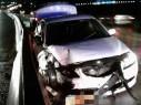 حادث طرق على مفترق طمرة الجنوبي واصابة شخص بجراح متوسطة