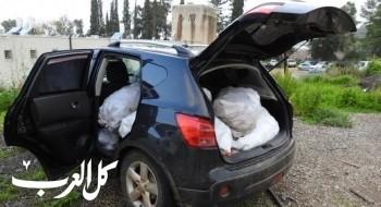اعتقال 4 أشخاص من الشيخ دنون بشبهة سرقة محاصيل زراعية بآلاف الشواقل