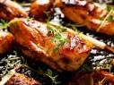 طريقة تحضير دجاج مشوي بالزعتر..صحتين وهنا