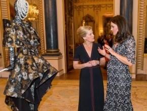 كيت ميدلتون تستضيف أسبوع الموضة اللندني في القصر الملكي