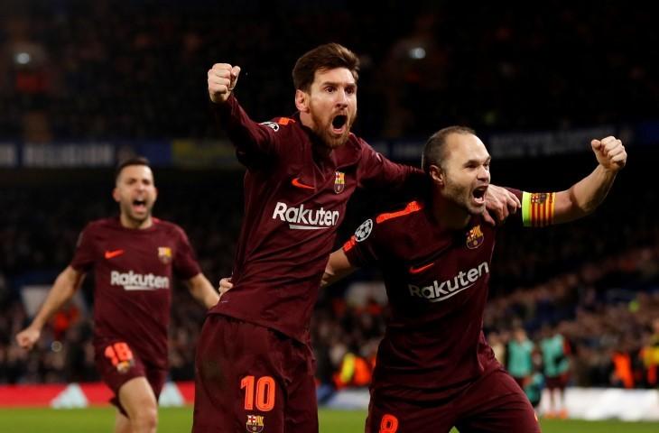 برشلونة يغادر بتعادل ثمين مع تشيلسي