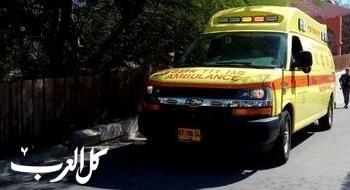 اصابة شابة بجروح متوسطة إثر حادث قرب مفرق حورة