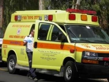 الطيرة: إصابة شاب جراء سقوطه عن ارتفاع