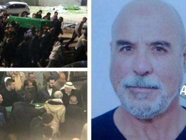 الرينة: تشييع جثمان الحاج بسام عثاملة