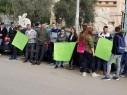 طلاب ثانوية شعب يتظاهرون احتجاجًا على تلوث مياه الشرب