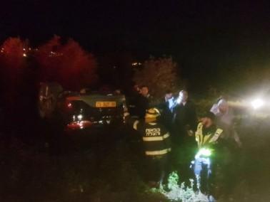 اصابة شخص بجراح طفيفة بحادث طرق بالقرب من مفرق الرامة