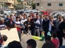 تظاهرة حاشدة لاهالي بلدة شعب احتجاجا على تلوث المياه