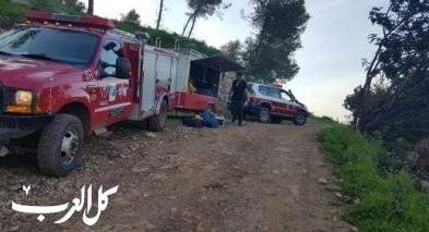 سقوط شابة في منطقة الجلبوع وإصابتها بكسور في كتفها