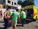 إصابة عامل (23 عامًا) بعد سقوطه عن ارتفاع في كفرياسيف وحالته متوسطة