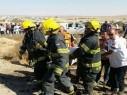 إصابات متفاوتة إثر حادث طرق في بلدة الزرازير