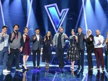 الحلقة الأخيرة من مرحلة الصوت وبس في The Voice