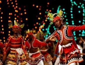 مهرجان الرقص التقليدي في سريلانكا..صور